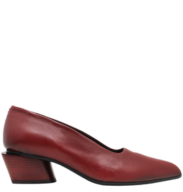 Halmanera Halmanera Passion Red Point Toe Pump Stack Heel 2026