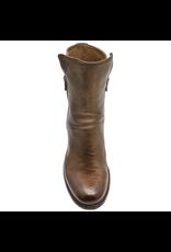 Officine Creative OfficineCreative Cigar Nappa 2-Zipper Ankle Boot Ariel