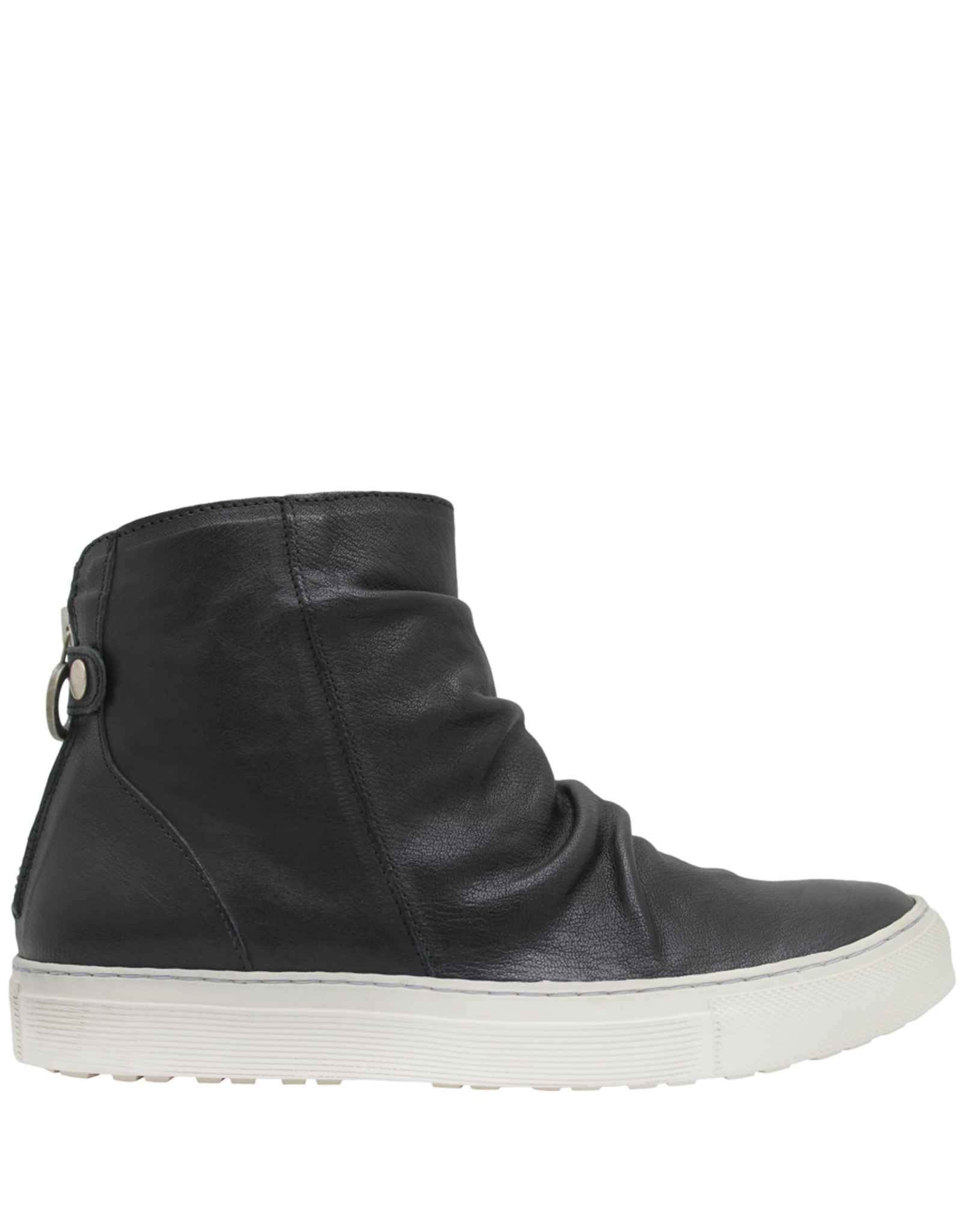 Fiorentini+Baker Fiorentini+Baker BlackHigh Top Sneaker With Back Zipper Brody