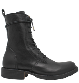 Fiorentini+Baker Fiorentini+Baker Black Mid-Calf With Laces And Zipper Legos