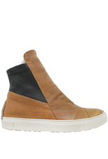 Fiorentini+Baker Fiorentini+Baker Camel Snaeker W/ Fur Lining Side Zipper Bret-Fur