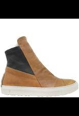 Fiorentini+Baker Fiorentini+Baker Camel Sneaker W/ Fur Lining Side Zipper Bret-Fur