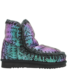 Mou Mou Fantasy Snake WhipStitch Detail Shearling lining Brienne