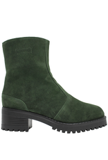 PalmrothOriginal PalmrothOriginal Green Suede WaterProof Shearling Lined 8316