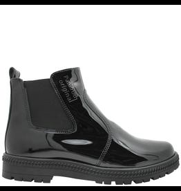 PalmrothOriginal PalmrothOriginal Black Patent Waterproof Chelsea W/Zipper 8313