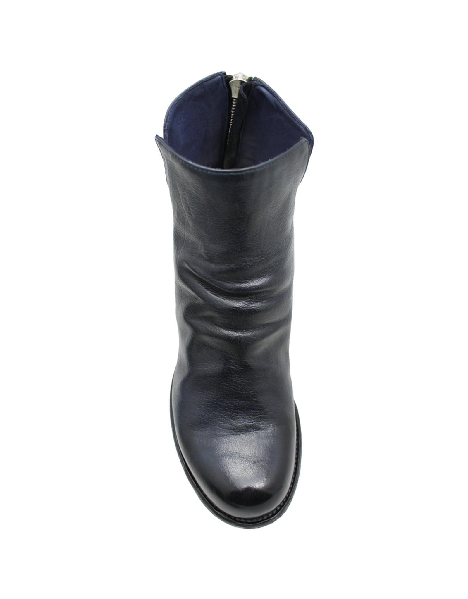 Officine Creative OfficineCreative Navy Nappa Back Zipper Boot Ariane