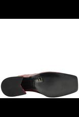 Elena Iachi ElenaIachi Red Snake Mid-Calf Square Toe Boot 1945
