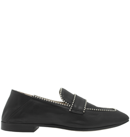 Now Now Black Loafer With Studs-6947