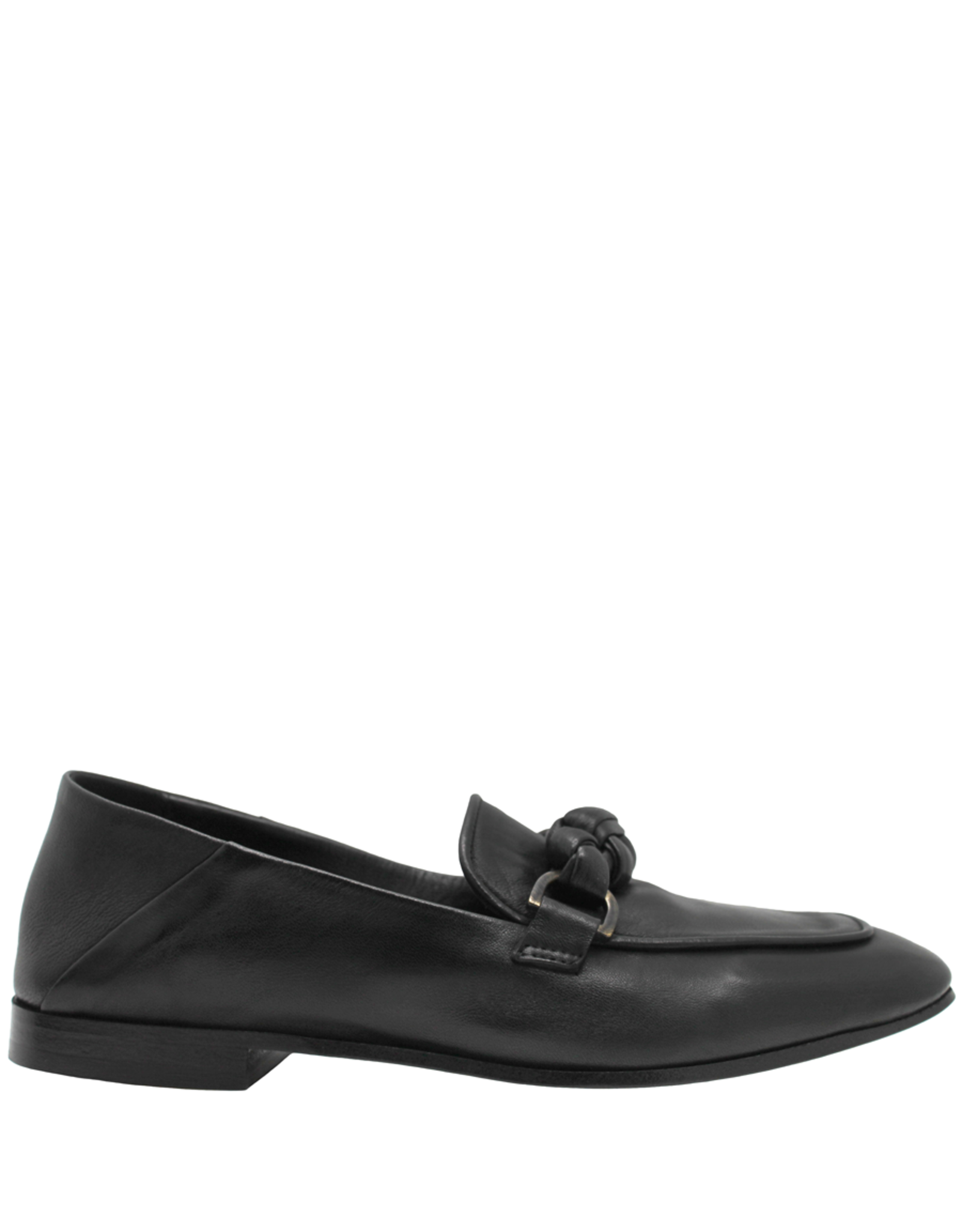 Now Now Black Braid Detail Loafer-6949