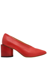 Halmanera Halmanera- Red Point Toe Pump-2034
