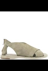 Officine Creative Officine Creative- Milos Khaki Criss Cross Suede Sandal