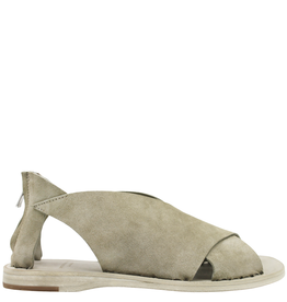 Officine Creative Officine Creative- Milos Khaki Criss Cross Suede Sandal