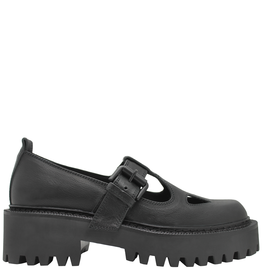 VicMatie VicMatie- Black Mary Jane Tread Sole 5612