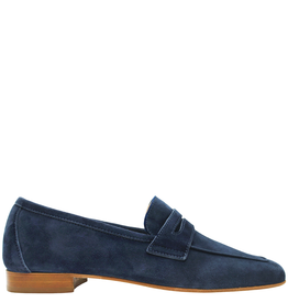 Siton Siton Blue Suede Classic Loafer 8059