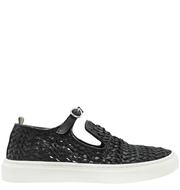 Officine Creative Officine Creative- Black Buckle Sneaker Leggera