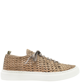 Officine Creative Officine Creative- Naxos OC61H Taupe Lace-Up Sneaker