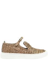 Officine Creative Officine Creative- Taupe Buckle Sneaker Leggera