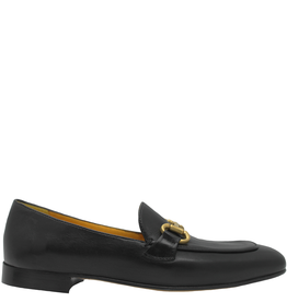 MaraBini MaraBini M5K Black Square Toe Loafer 8314