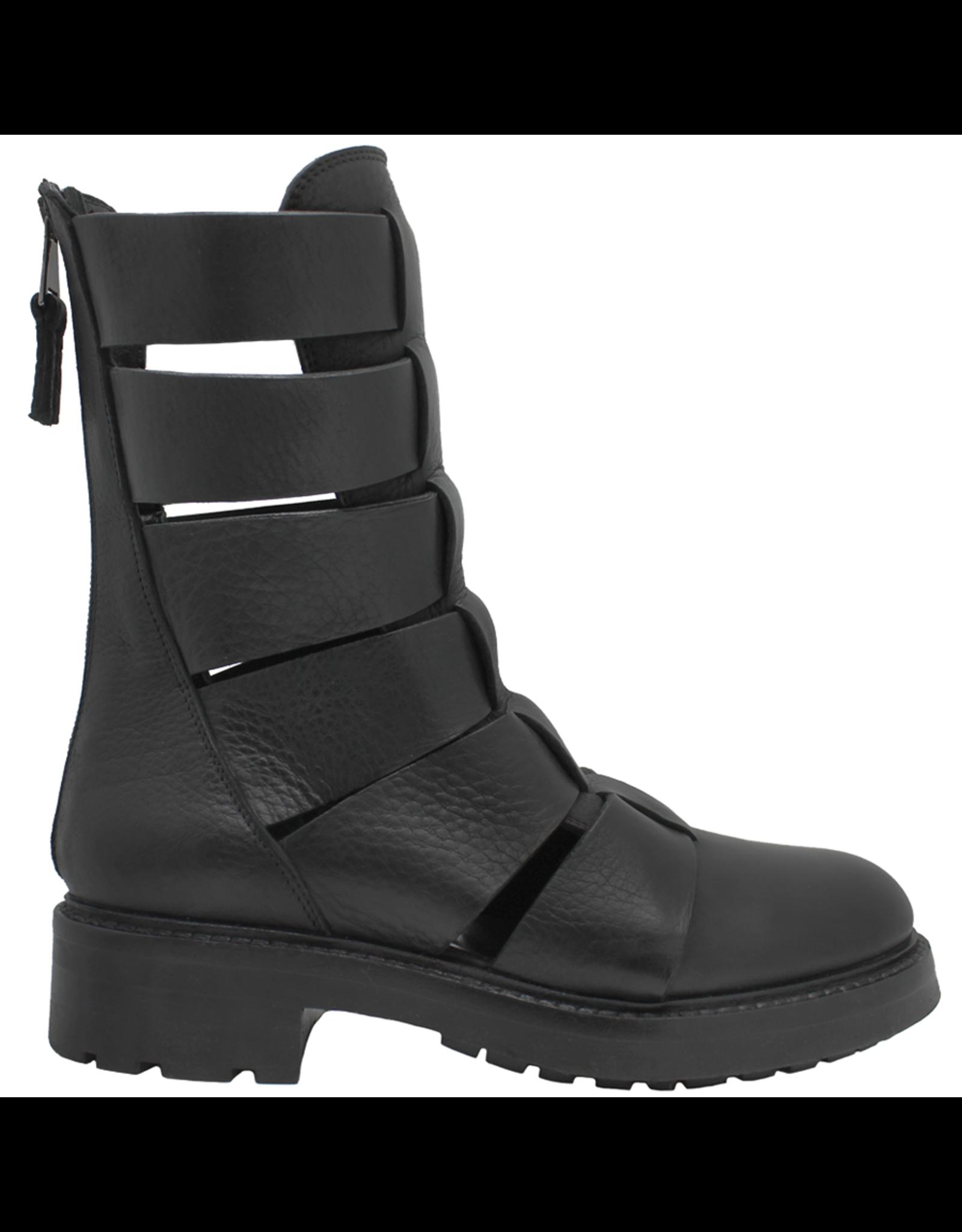 Elena Iachi ElenaIachi- Black Moto Boot 2972