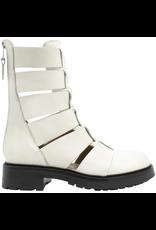 Elena Iachi ElenaIachi- White Moto Boot 2972