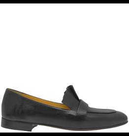 MaraBini MaraBini Black Loafer With Pleats 8113