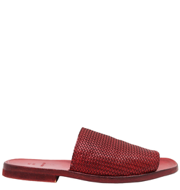 Moma Moma- Red Woven Mule 2119