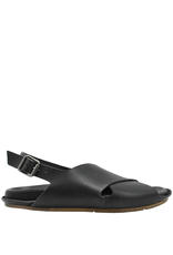Moma Moma- Black Criss Cross Sandal 2142