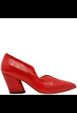Halmanera Halmanera Red Patent Medium Heel Pump 2008