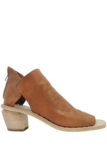 Officine Creative OfficineCreative Camel Sandal With Back Zipper Meena