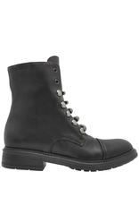 Now Now Black Ankle Boot  7017