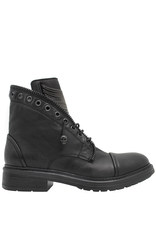 Now Now Black Chain Detail Pull On Boot 7024