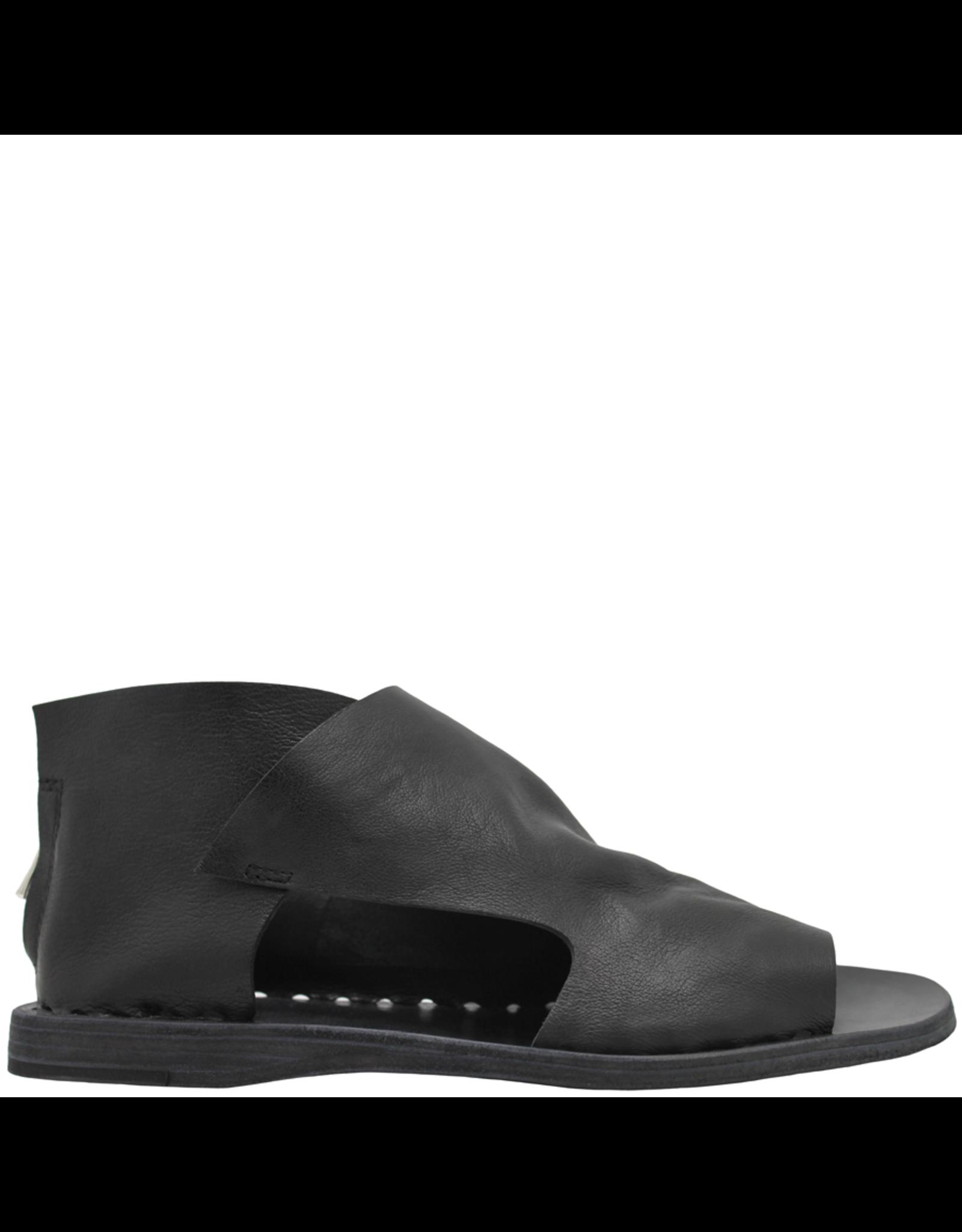 Officine Creative OfficineCreative Black Flat Sandal With Back Zipper Hunter