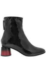 Halmanera Halmanera Black Patent Square Boot 2039