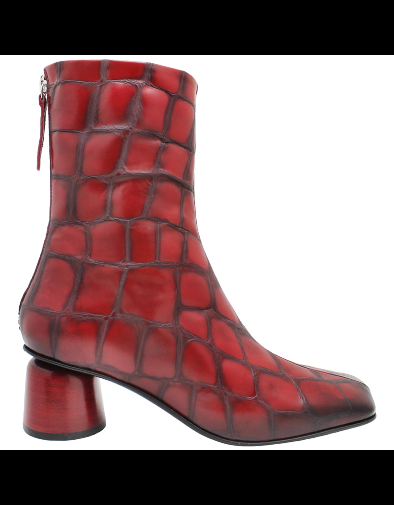 Halmanera Halmanera Red Croco Boot 2041
