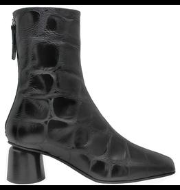 Halmanera Halmanera Black Croco Boot 2041