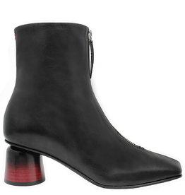 Halmanera Halmanera Black Front Zip Boot Ombre Heel 2042