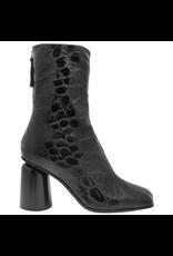 Halmanera Halmanera Black Croco High Heel Boot 2043