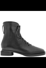 Halmanera Halmanera Black Lace-Up Back Zip Boot 2048