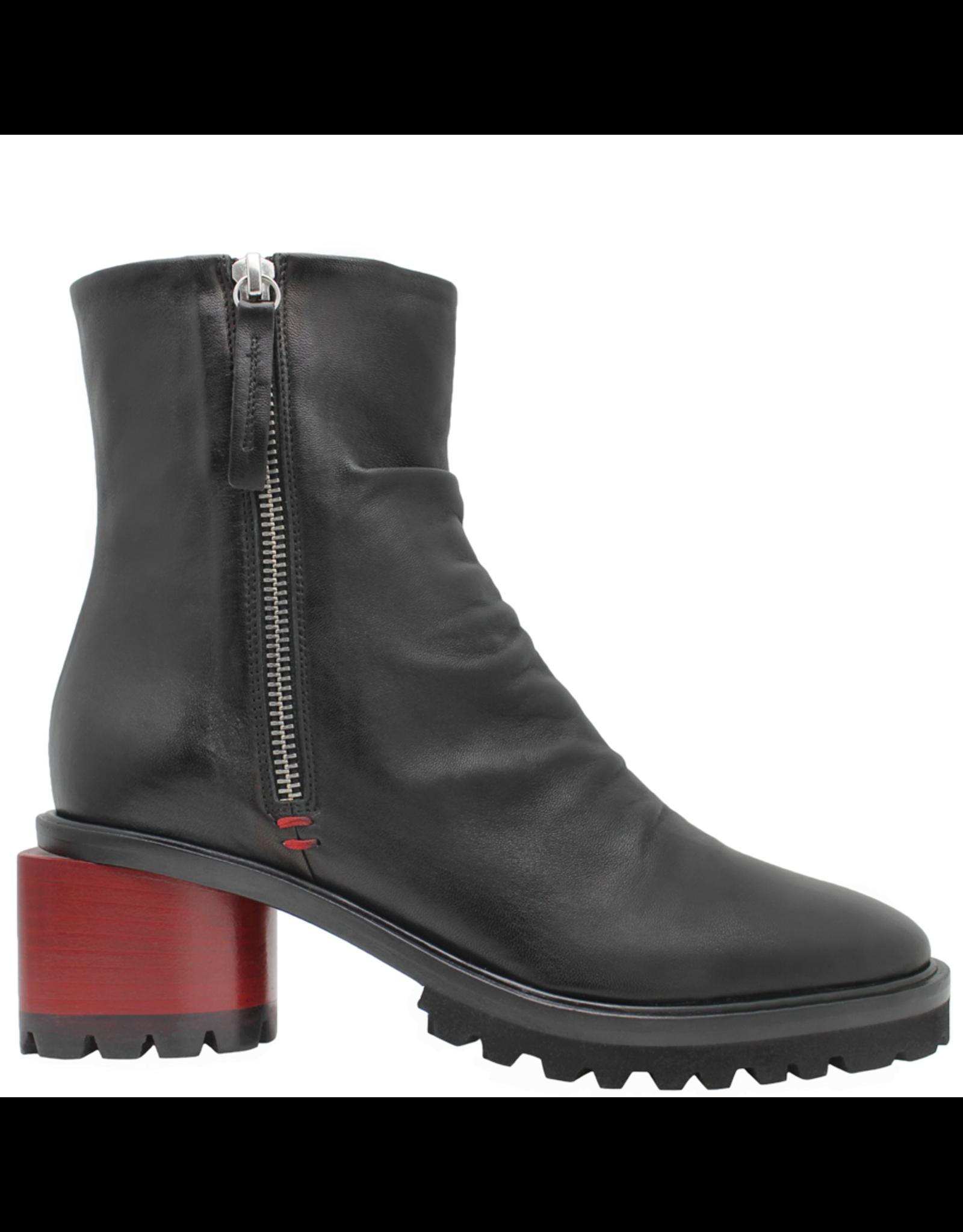 Halmanera Halmanera Black 2-Zipper Boot 2052