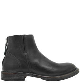 Moma Moma Black Ankle Boot with Elastic  2148
