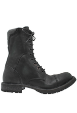 Moma Moma Black Military Boot with Zip 2150
