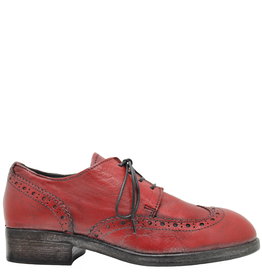 Moma Moma Red Wingtip Oxford 2155