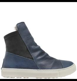 Fiorentini+Baker Fiorentini+Baker Blue Sneaker with Rabbit Fur Bret-Fur