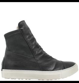 Fiorentini+Baker Fiorentini+Baker Black Sneaker with Rabbit Fur Bret-Fur