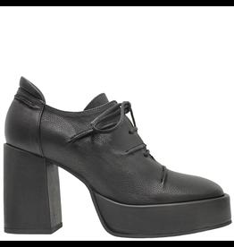 Ixos Ixos Black Lace-Up Platform Heel 1544
