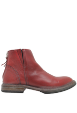 Moma Moma Red Ankle Boot with Elastic 2148