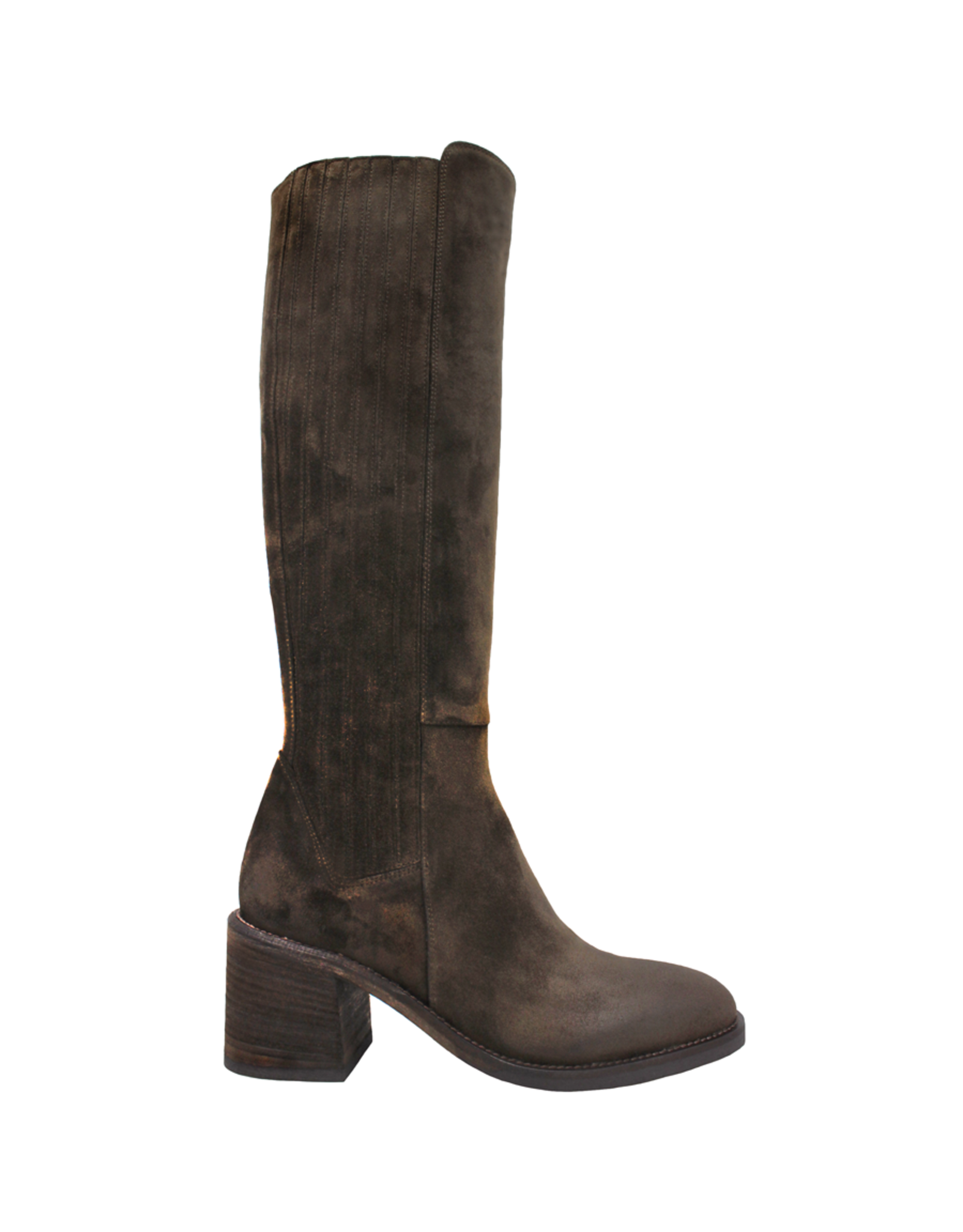 Now Now Brown Knee Boot 7159