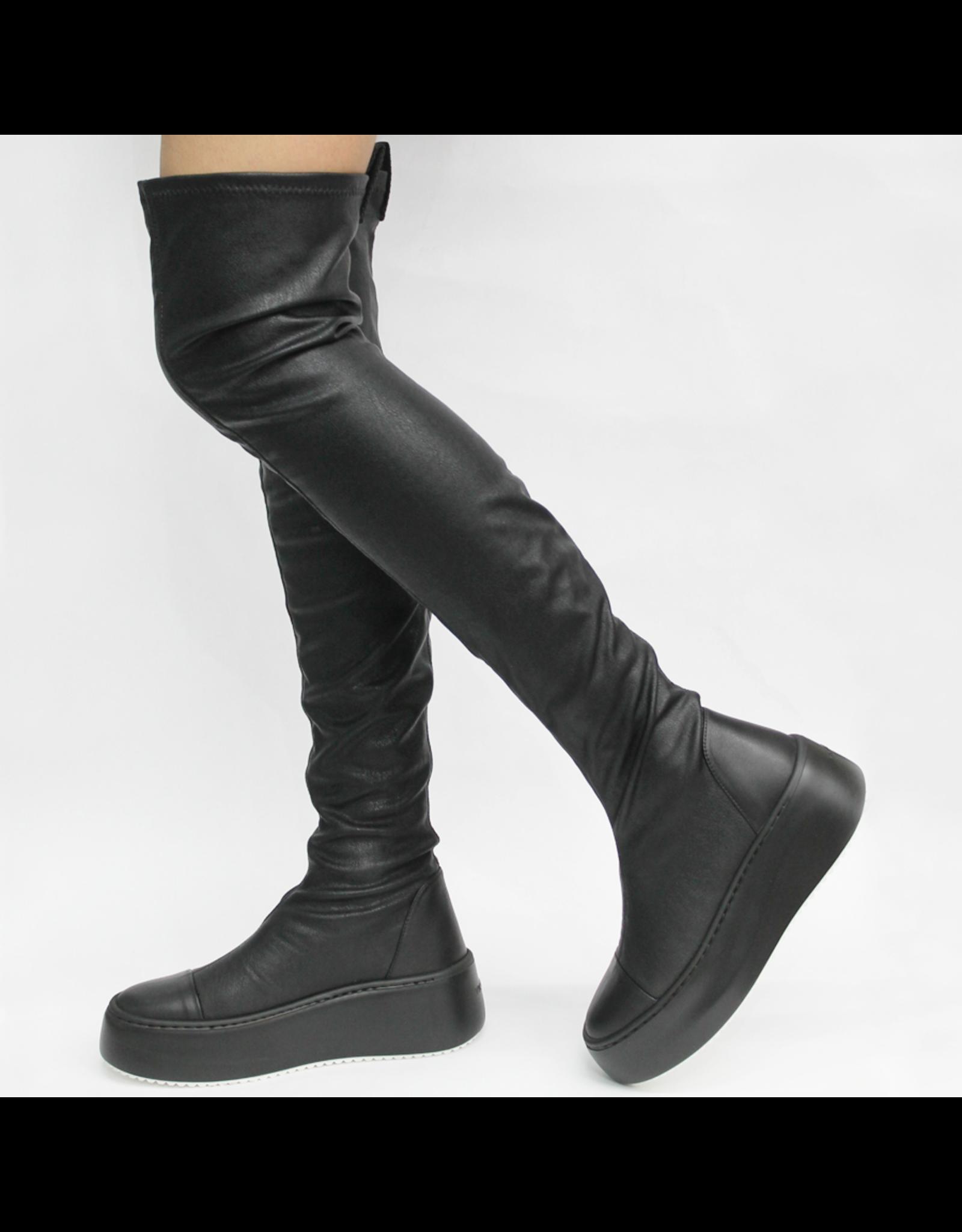 VicMatie VicMatie Black Thigh High Boot 3412