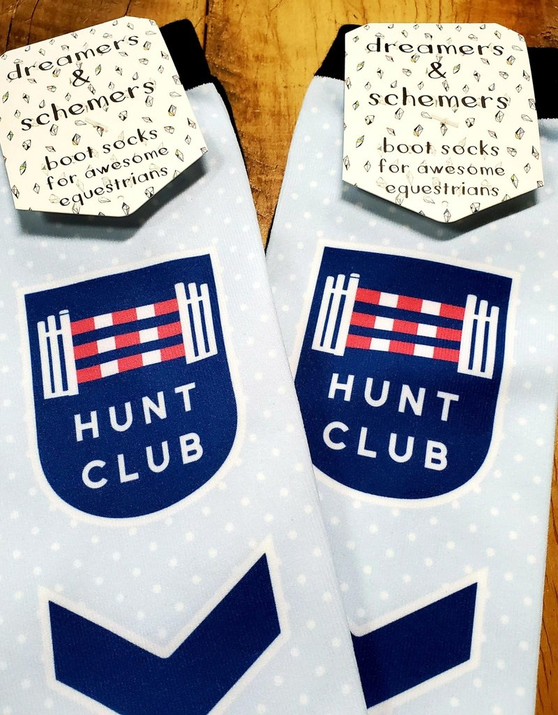 Dreamers & Schemers Dreamers and Schemers Hunt Club Boot Socks