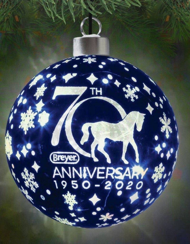 Breyer Breyer Holiday Ornament Light Up 70th Anniversary